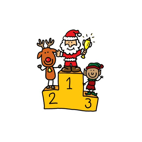 Eaton's Old Fashioned Christmas Coloring Contest - Preschool Entries