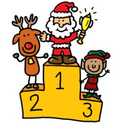 Eaton's Old Fashioned Christmas Coloring Contest - Ages 6-12 Entries