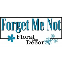 Forget Me Not Floral and Decor